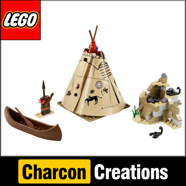 LEGO The Lone Ranger: Comanche Camp (NO minifigs) - Split from 79107 (NEW)