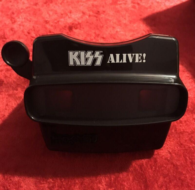 Kiss Alive LP 3D ViewFinder 5 Disc Reel! Black Gift Box! View master.