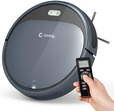 Coredy Robot Vacuum Cleaner 1400Pa Super-Strong Suction Ultra Slim Self-charging