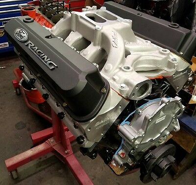 351w / 408 Small BLock Ford Long block,FREE Air Gap Intake,  FMS Valve covers