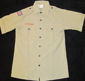BSA Boy Scout Uniform Shirt Youth Large  NEW  Short Sleeve