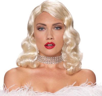 Morris Costumes Women's Tv & Movie Character Femme Fatale Blonde Wig. MR177694 - Women Movie Character Costumes