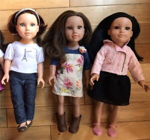 "Journey Girl Dolls 18"" - price is PER doll"