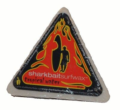 Sharkbaitsurfwax one 85 gr bar TROPICAL surfboard wax, surfwax, Skimboard wax