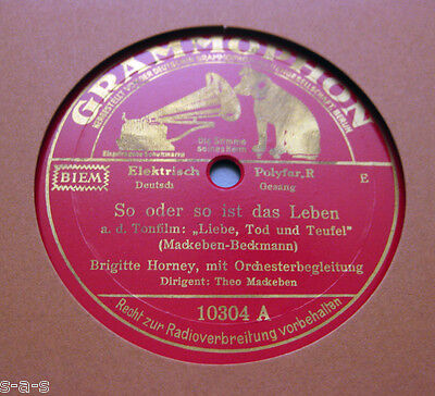 Brigitte Horney - So oder so ist das Leben / Oskar Joost - Liebeslied (158)