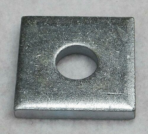 "100 1/2"" X 1-5/8"" Square Channel Washer For Unistrut Channel  P1064 Zinc Plated"