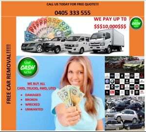 Cash for cars,utes vans,in any condition ******3555