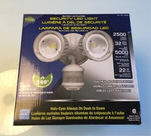 Security LED light motion-activated — NEW in box Costco