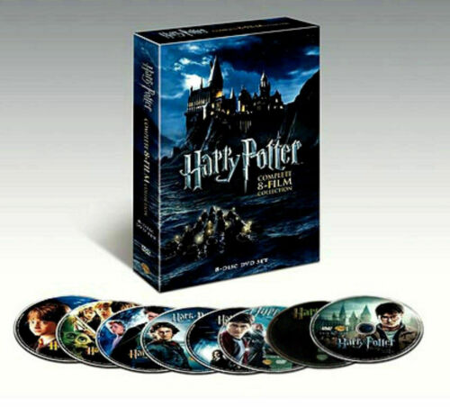 Harry Potter: Complete 8-Film Collection (DVD, 2011, 8-Disc Set) NEW