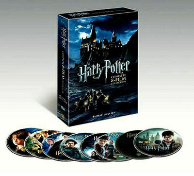 Harry Potter: Complete 8-Film Collection (DVD, 2011, 8-Disc Set) Brand New