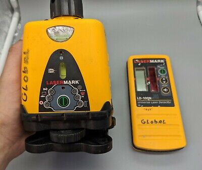 Cst Berger Lasermark Lm30 Lm-30 Rotary Laser Level W Ld-100n Detector