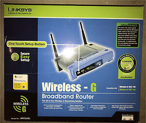 Linksys Router WRT54GL Eastern Creek Blacktown Area Preview
