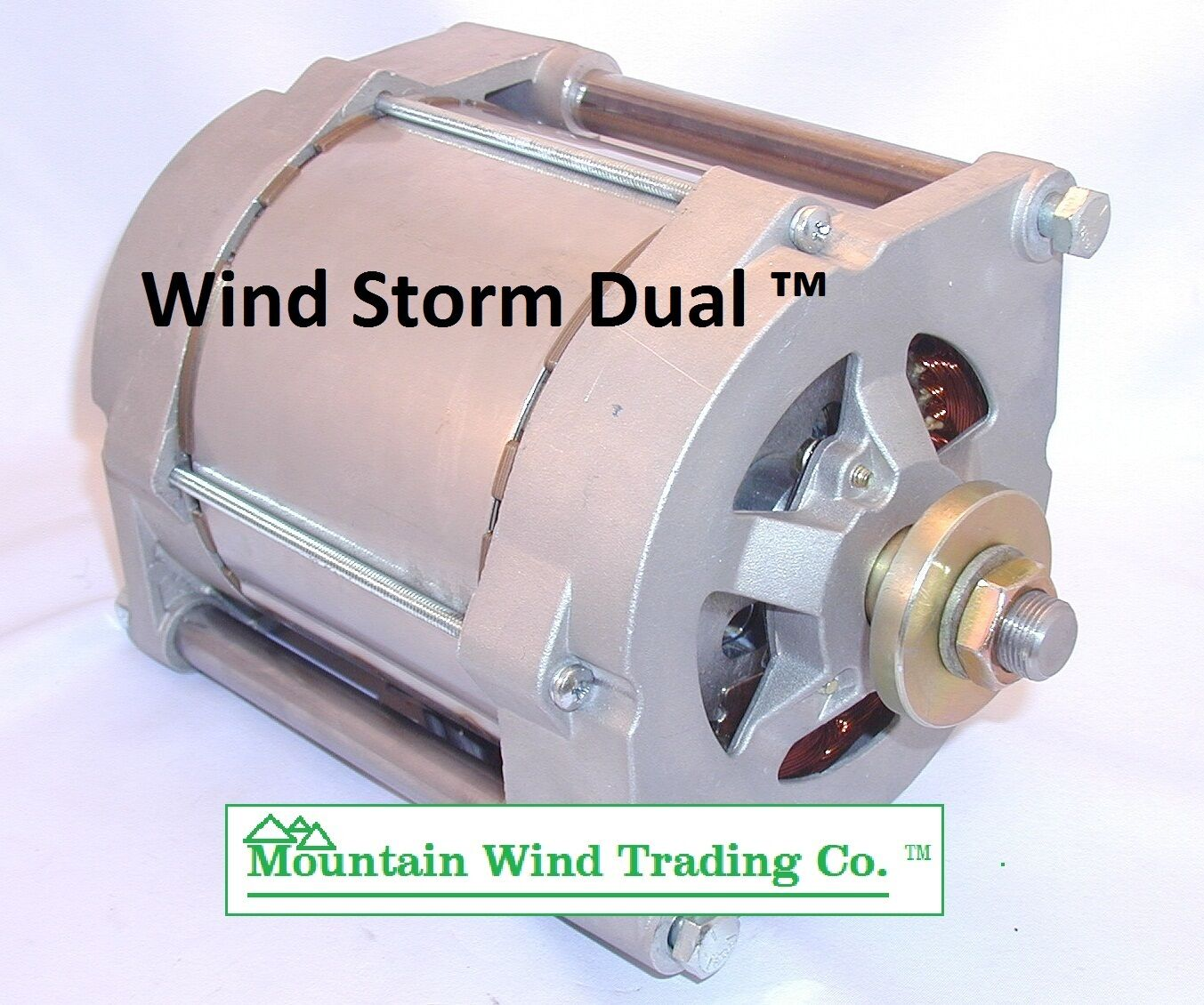 Car Alternator Wind Generator : Dual permanent magnet alternator pma from missouri wind