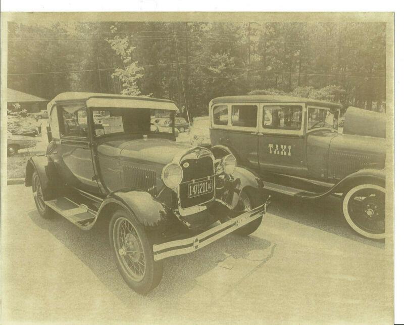 Set 3, 10 ORIGINAL VINTAGE 8x10 PHOTOS OF ANTIQUE CAR SHOW AT STONE MOUNTAIN GA