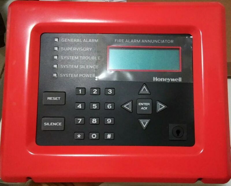 SILENT KNIGHT 5860R REMOTE LCD ANNUNCIATOR RED