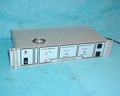 Dual Stepping Motor Controller Generic Reversible Rack Mountable 120v Input