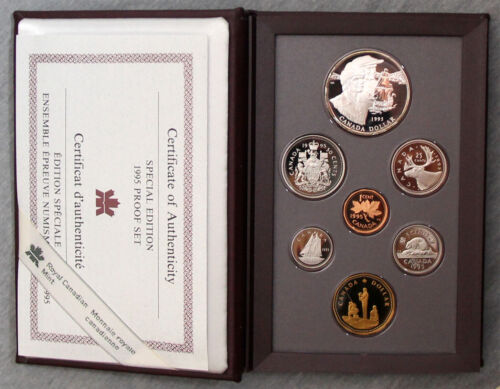 Canada 1995 Double Dollar Special Edition Proof set  #162055