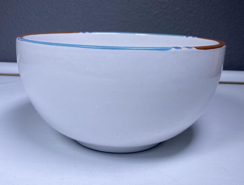 """Dansk Mesa WHITE SAND 8.25"""" Medium Round Mixing Serving Bowl"""