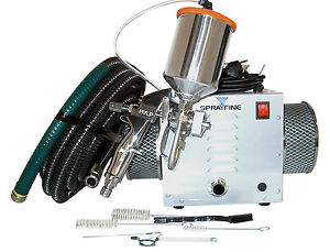 3-Stage HVLP Turbine Paint Sprayer w/gravity feed gun