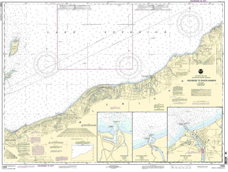 Redridge to Saxon Harbor, Ontonagon Harbor, Black River Harbor, Saxon Harbor