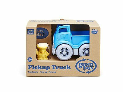 Green Toys Pickup Truck Blue Toy with Character Recycled Plastic No BPA NEW