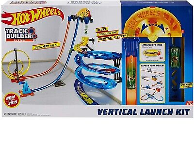 Hot Wheels Track Builder Vertical Launch Kit Toy Gift ~BRAND NEW~