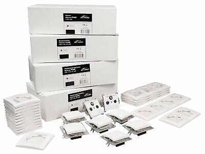 Schalter und Steckdosen-Set FLAIR weiß - alle