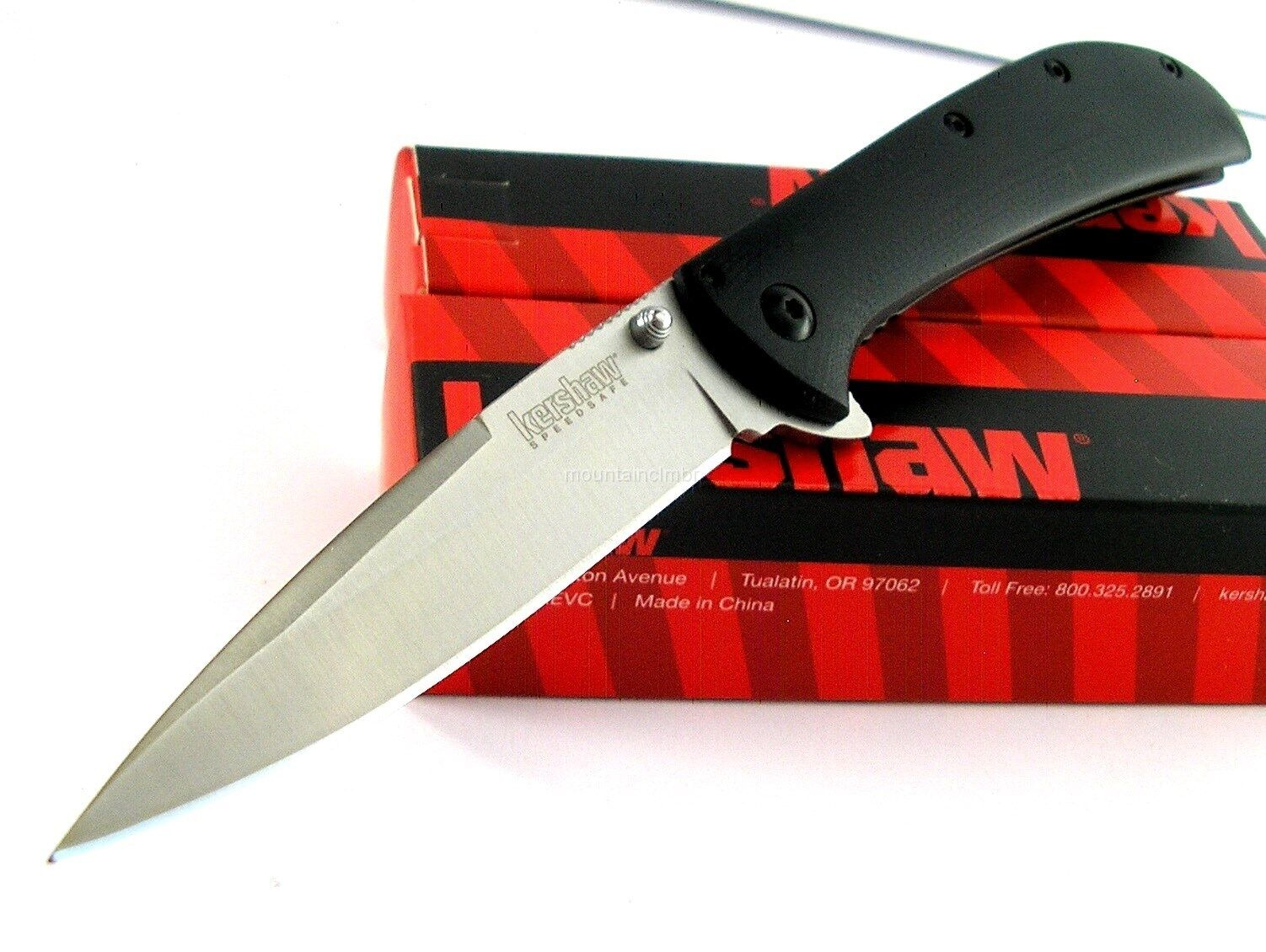 Knife - Kershaw Al Mar AM-4 Flipper Speed Assisted Opening G10 Knife CLAM Pack 2330