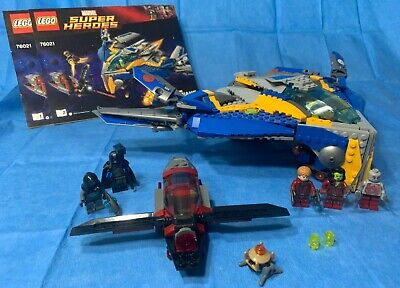 LEGO Marvel 76021 The Milano Spaceship Rescue