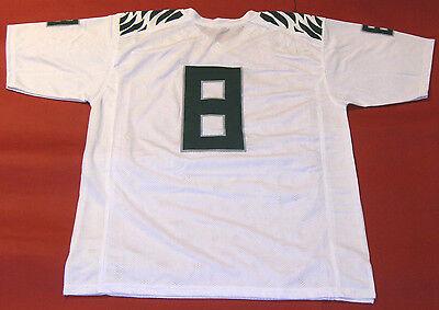 Custom Oregon Football Jersey - MARCUS MARIOTA CUSTOM OREGON DUCKS W JERSEY NNOB HEISMAN