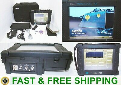 Tektronix Sa2500 6.2 Ghz Handheld Spectrum Analyzer Option Ep1 W Case