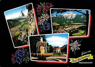 Gruss aus Bad Reichenhall , Ansichtskarte 1983 gelaufen