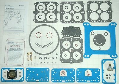 HOLLEY PERFORMANCE CARBURETOR REBUILD KIT 1850 3310 9776 80457 80670 80670 80508