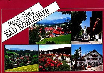 Moorheilbad Bad Kohlgrub  , Ansichtskarte 1992 gelaufen