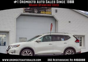2018 Nissan Rogue SL HEATED LEATHER,FRONT POWER SEATS,NAVIGAT...