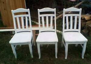 TIMBER CHAIRS Upper Caboolture Caboolture Area Preview