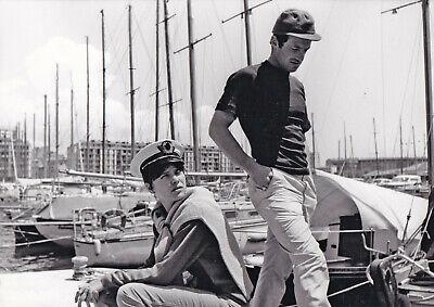 Jean-Paul Belmondo Anna Karina Pierrot le fou Godard Original Vintage 1965