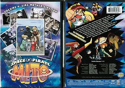 Space Pirate Mito Volume 4 Like Mother Like Son DVD New Anime Region 1
