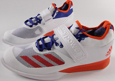 Adidas Performance Crazy Power Weightlifting Shoe 12  175 New White Energy Royal