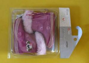 New Leather Pre-Walker Baby Girl Warm Boots Cherrybrook Hornsby Area Preview