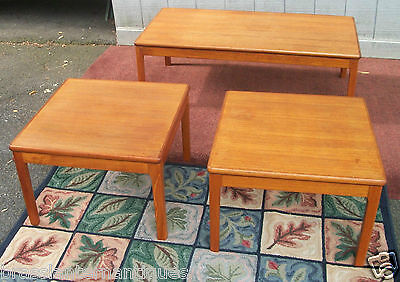Купить MID MODERN COFFEE TABLE & TWO END TABLES wood Asian Oriental Chinese furniture