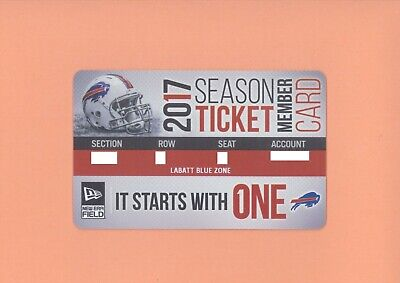 New England Patriots @ Buffalo Bills 12-3-2017 ticket card stub Super Bowl LII A