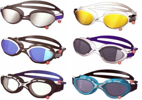 Speedo Adult Ultimate Comfort Swim Goggle Ergonomic/UV/Latex-Free/Speed-Fit-Clip