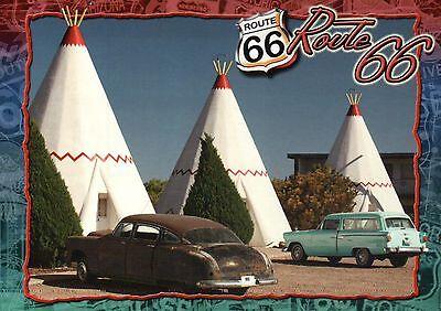 Wigwam Motel, Holbrook, Arizona AZ, Route 66, Old Cars, Teepee - Modern Postcard