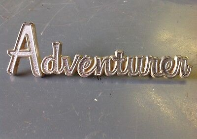 VTG 1973 Dodge Pick Up Truck ~ Adventurer Bed Emblems~  OEM 1972-80 MOPAR D-W