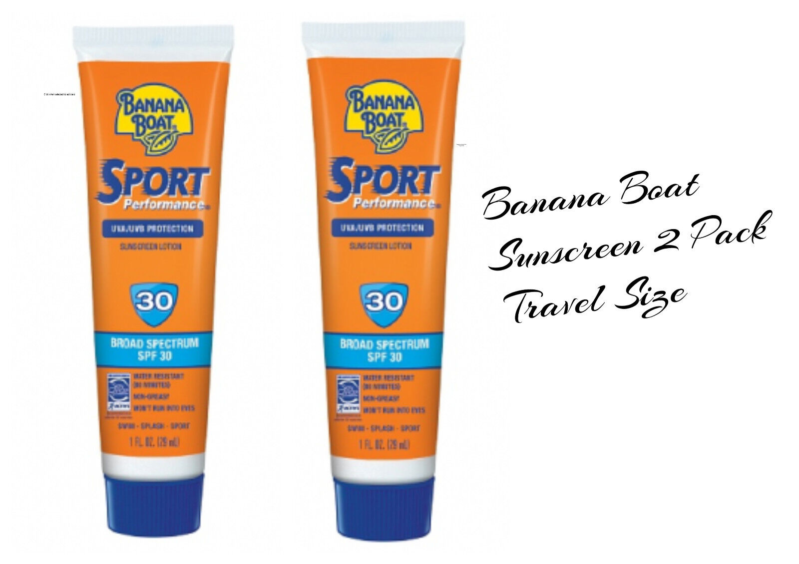 Banana Boat Sport Performance Sunscreen Lotion 1 oz