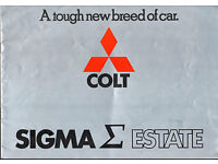 1994 Mitsubishi Galant Sales Brochure Folder
