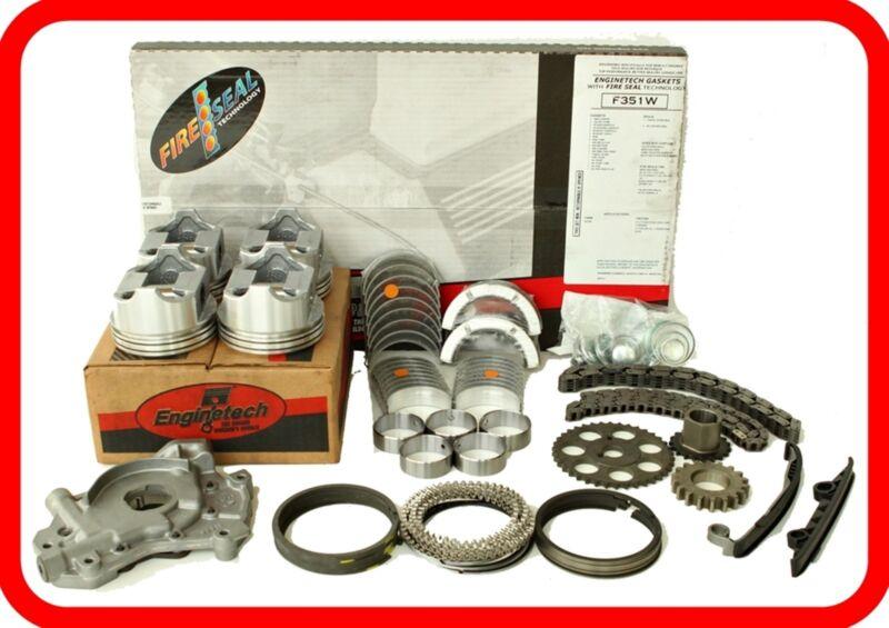 Engine Rebuild Overhaul Kit Fits: 83-89 Nissan Truck Pathfinder 2.4l Z24  Z24i