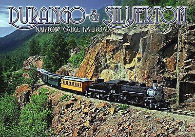 Durango & Silverton Narrow Gauge Railroad, Colorado, Locomotive,Train - Postcard for sale  Shipping to Canada