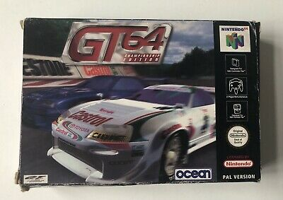 GT64 Championship Edition Nintendo 64 N64 Complete PAL *READ*